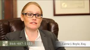 Carrie Boyle (McDowell Posternock Apell & Detrick, PC ).
